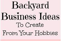 back yard business ideas