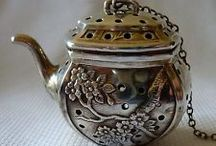 Antique silver / It is great to see all types of silver.