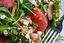 Salad / Wonderful salads I hope to enjoy very soon and some wonderful favorites. / by Sandra Stanley