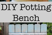 Potting sheds/benches