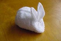 origami serviette