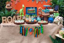 Good dinosaur party / Evie is planning her 5th birthday party