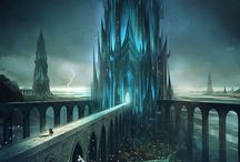 Fantasy Buildings/Landscapes/Settings