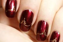 christmas nail art tutorial & winter nails by nded / christmas nail art tutorial & winter nails by nded