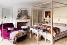WORLD OF INTERIORS: BEDROOMS