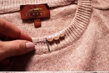 sweater with pearls