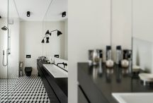 BLACK&WHITE bathroom