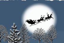 Midnight moon sleigh