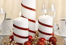 candlelight centerpieces