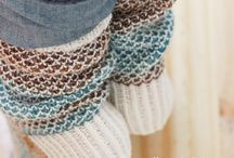 Knit: Pies calentitos