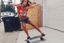 Skate planche à roulettes
