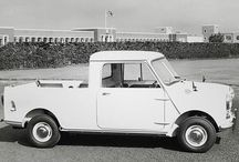 """The Classic Morris Mini Pick-up. Just one way we've been more than """"Mini Cooper"""" for over 50 years. #ClassicMini - photo from miniusa"""