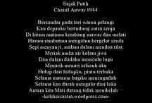 Chairil Anwar / Kumpulan puisi Chairil Anwar