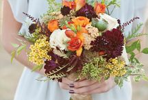 Country Rustic Wedding Flowers / Natural style, mixed colours, carefree flowers