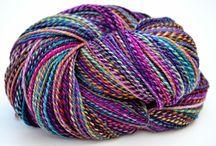kolorowe wełenki