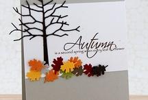 Card autumn