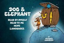 'Dog and Elephant' children's book on iPad  / Join Dog and Elephant in a fantastic adventure through magic worlds in an old truck. Download 'Dog and Elephant' in App Store for only $ 2.99. Read all the great reviews in App Store.