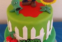 PLANTES ZOMBIA CAKE