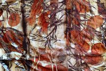 Silk & eco dying
