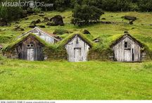 TURF HOUSES - ICELAND / Architecture in Other Cultures (38 FaceBook Photo Albums): https://www.facebook.com/notes/svane-frode/fb-albums-and-notes-for-architecture-in-other-cultures/636668306345516      http://en.wikipedia.org/wiki/Icelandic_turf_house  http://www.theapricity.com/forum/showthread.php?t=1017