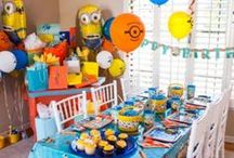 Despicable Me Party Ideas / Throw a despicably fun party complete with minionized party ideas! Fill up on all our Gru approved desserts, table decorations, games and so much more!  / by Party City