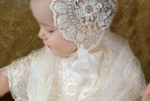 Lace(Antique), Bonnets/Dresses/Cuffs