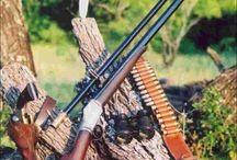 Falling block rifles