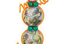 Turtles balloon theme