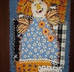 Fabric Postcard Ideas / by Jayne Honnold