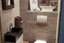 Туалетная комната идеи
