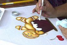 Pintura e moldes