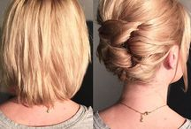 Hairstyles for Trent's wedding