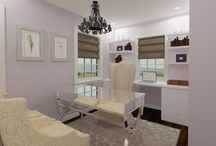 Glamour Offices / Private & Commercial Offices that evoke glamour.