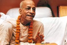 SRILA PRABHUPADA / In the last ten years of his life, in spite of his advanced age, Srila Prabhupada circled the globe twelve times on lecture tours that have took him to six continents. In spite of such a vigorous schedule, Srila Prabhupada continued to write prolifically. His writings constitute a veritable library of Vedic philosophy, religion, literature and culture.