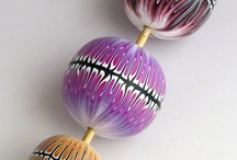 Spectacular polymer clay pieces