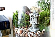 fairy houses and mini gardens  I love