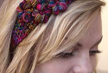 Crochet, headband
