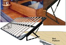 Lift up bed