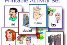 EEn taal leren, materiaal