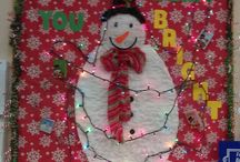 Chapin Library Festive Decorations