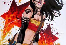Wonder Woman cosplay / Punk Wonder Woman!