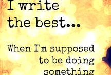 the writer in me