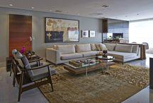 Salas inspiradoras / Salas de jantar e estar para receber e reunir amigos e família em alto estilo.