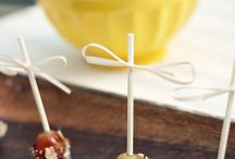 Wedding Cake {and other delicious things}