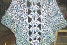 Crochet: Wraps, ponchos, etc / by Colleen Scott