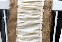 Burlap, Linen, and Dropcloth / by Dawn Zoll