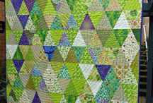 Quilts - Triangles / by Karen Thompson