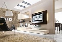 partition walls - pareti attrezzate / partition shelfs - furniture walls