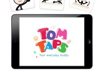 Tom Taps App / Tom Taps is an application that primarily aims to help children with special needs to grow, develop, and learn their skills by offering a variety of tools and activities specifically developed for them.