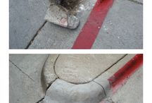 Curbs / Repair curbs in minutes without forms.